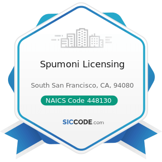 Spumoni Licensing - NAICS Code 448130 - Children's and Infants' Clothing Stores