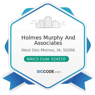 Holmes Murphy And Associates - NAICS Code 524210 - Insurance Agencies and Brokerages