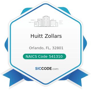 Huitt Zollars - NAICS Code 541310 - Architectural Services