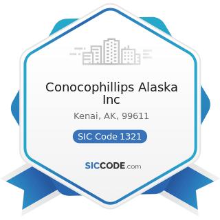 Conocophillips Alaska Inc - SIC Code 1321 - Natural Gas Liquids