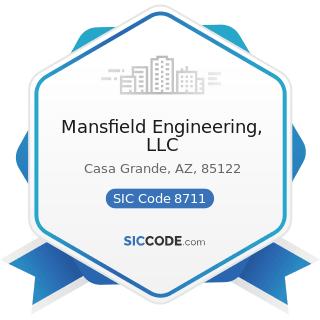 Mansfield Engineering, LLC - SIC Code 8711 - Engineering Services