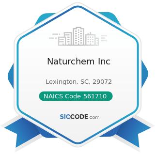 Naturchem Inc - NAICS Code 561710 - Exterminating and Pest Control Services