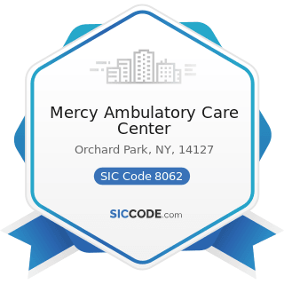 Mercy Ambulatory Care Center - SIC Code 8062 - General Medical and Surgical Hospitals
