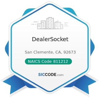 DealerSocket - NAICS Code 811212 - Computer and Office Machine Repair and Maintenance