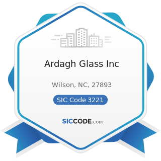 Ardagh Glass Inc - SIC Code 3221 - Glass Containers