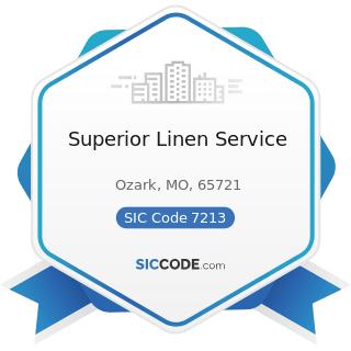 Superior Linen Service - SIC Code 7213 - Linen Supply