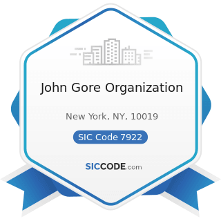 John Gore Organization - SIC Code 7922 - Theatrical Producers (except Motion Picture) and...