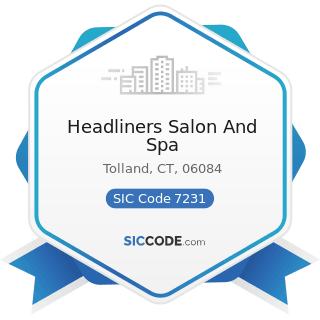 Headliners Salon And Spa - SIC Code 7231 - Beauty Shops