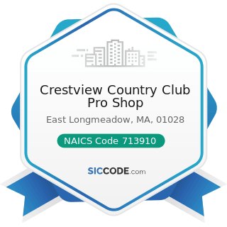 Crestview Country Club Pro Shop - NAICS Code 713910 - Golf Courses and Country Clubs