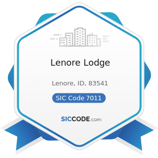 Lenore Lodge - SIC Code 7011 - Hotels and Motels