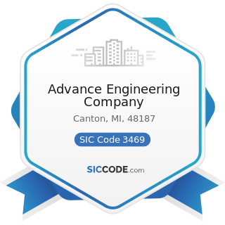 Advance Engineering Company - SIC Code 3469 - Metal Stampings, Not Elsewhere Classified