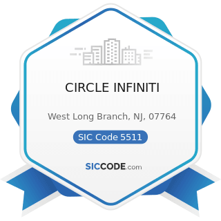 CIRCLE INFINITI - SIC Code 5511 - Motor Vehicle Dealers (New and Used)
