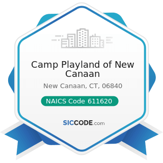 Camp Playland of New Canaan - NAICS Code 611620 - Sports and Recreation Instruction
