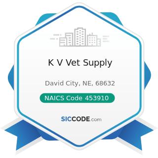 K V Vet Supply - NAICS Code 453910 - Pet and Pet Supplies Stores