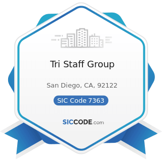 Tri Staff Group - SIC Code 7363 - Help Supply Services