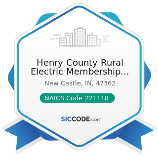 Henry County Rural Electric Membership Corp - NAICS Code 221118 - Other Electric Power Generation