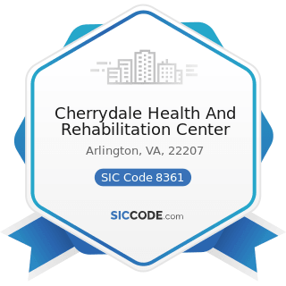 Cherrydale Health And Rehabilitation Center - SIC Code 8361 - Residential Care