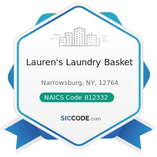 Lauren's Laundry Basket - NAICS Code 812332 - Industrial Launderers