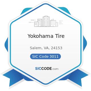 Yokohama Tire - SIC Code 3011 - Tires and Inner Tubes