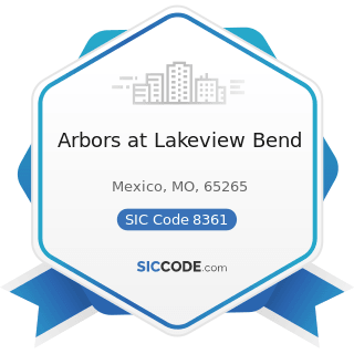 Arbors at Lakeview Bend - SIC Code 8361 - Residential Care