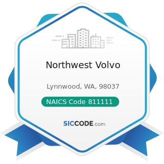 Northwest Volvo - NAICS Code 811111 - General Automotive Repair