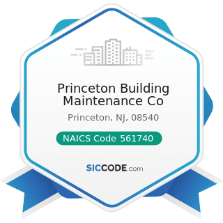 Princeton Building Maintenance Co - NAICS Code 561740 - Carpet and Upholstery Cleaning Services