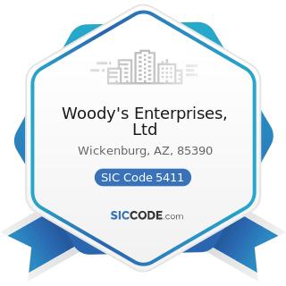 Woody's Enterprises, Ltd - SIC Code 5411 - Grocery Stores