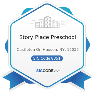 Story Place Preschool - SIC Code 8351 - Child Day Care Services