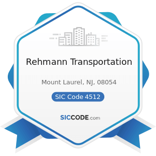 Rehmann Transportation - SIC Code 4512 - Air Transportation, Scheduled