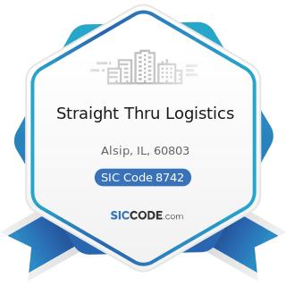 Straight Thru Logistics - SIC Code 8742 - Management Consulting Services
