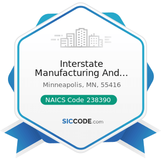 Interstate Manufacturing And Supply - NAICS Code 238390 - Other Building Finishing Contractors