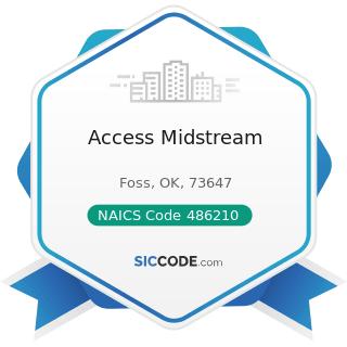 Access Midstream - NAICS Code 486210 - Pipeline Transportation of Natural Gas