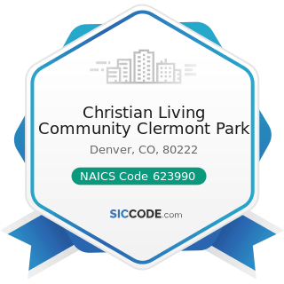 Christian Living Community Clermont Park - NAICS Code 623990 - Other Residential Care Facilities