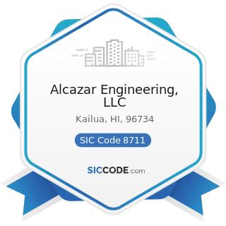 Alcazar Engineering, LLC - SIC Code 8711 - Engineering Services