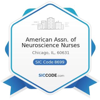 American Assn. of Neuroscience Nurses - SIC Code 8699 - Membership Organizations, Not Elsewhere...