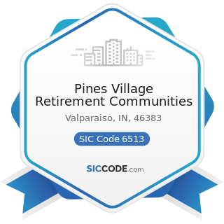 Pines Village Retirement Communities - SIC Code 6513 - Operators of Apartment Buildings