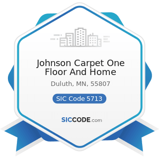 Johnson Carpet One Floor And Home - SIC Code 5713 - Floor Covering Stores