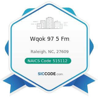 Wqok 97 5 Fm - NAICS Code 515112 - Radio Stations