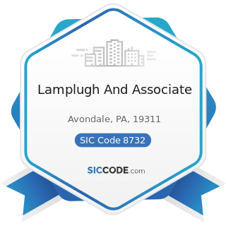 Lamplugh And Associate - SIC Code 8732 - Commercial Economic, Sociological, and Educational...