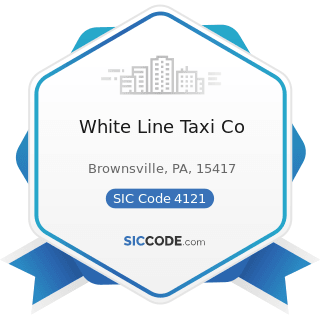 White Line Taxi Co - SIC Code 4121 - Taxicabs