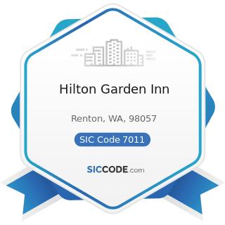Hilton Garden Inn - SIC Code 7011 - Hotels and Motels