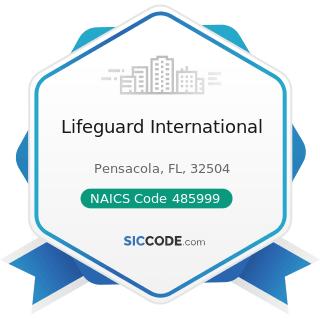 Lifeguard International - NAICS Code 485999 - All Other Transit and Ground Passenger...
