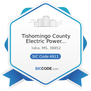Tishomingo County Electric Power Association - SIC Code 4911 - Electric Services