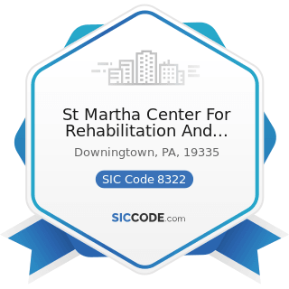 St Martha Center For Rehabilitation And Healthcare - SIC Code 8322 - Individual and Family...