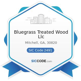 Bluegrass Treated Wood Llc - SIC Code 2491 - Wood Preserving