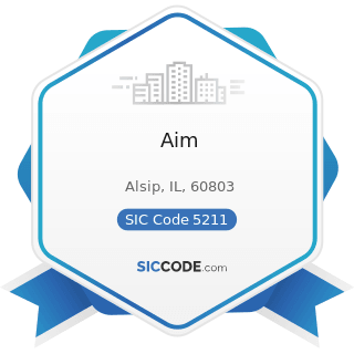 Aim - SIC Code 5211 - Lumber and other Building Materials Dealers