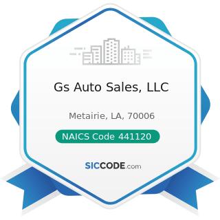 Gs Auto Sales, LLC - NAICS Code 441120 - Used Car Dealers