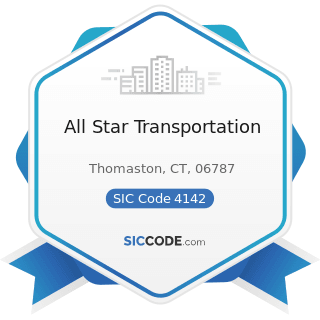 All Star Transportation - SIC Code 4142 - Bus Charter Service, except Local