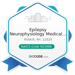 Epilepsy Neurophysiology Medical Consulting PC - NAICS Code 621999 - All Other Miscellaneous...