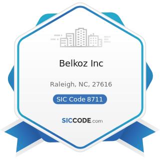 Belkoz Inc - SIC Code 8711 - Engineering Services